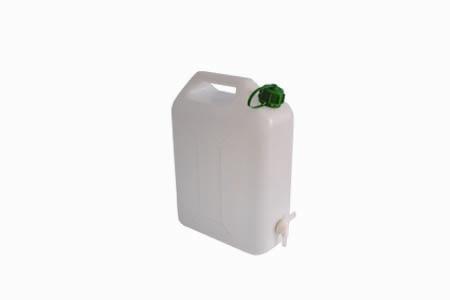 Kanystr plastový na vodu 15 l s kohoutkem