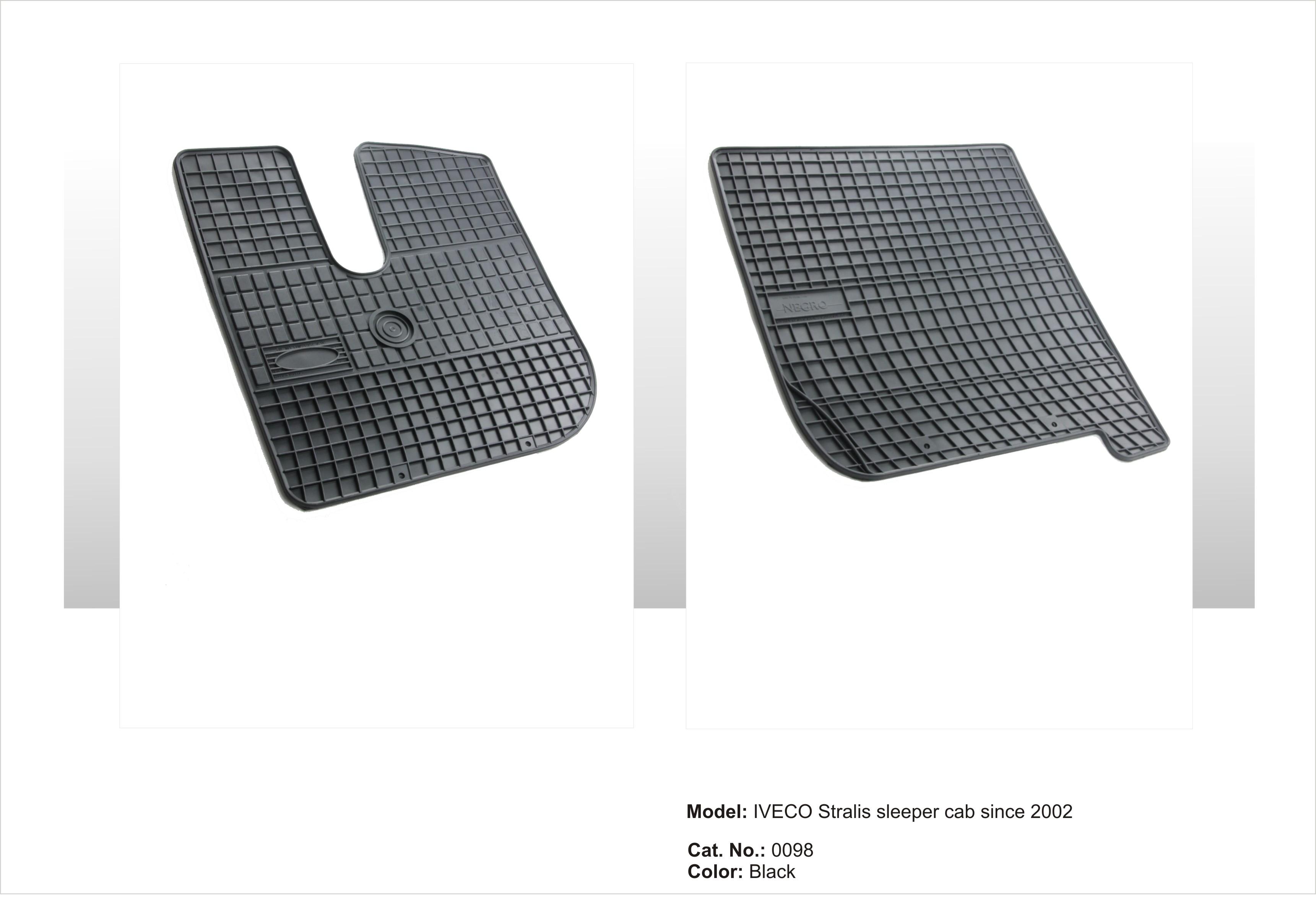 Gumové rohože Iveco STARLIS - veká kabina since 2002