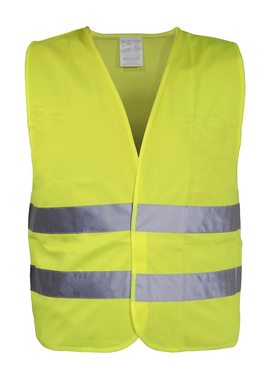 Výstražná reflexní vesta XL žlutá, 01510