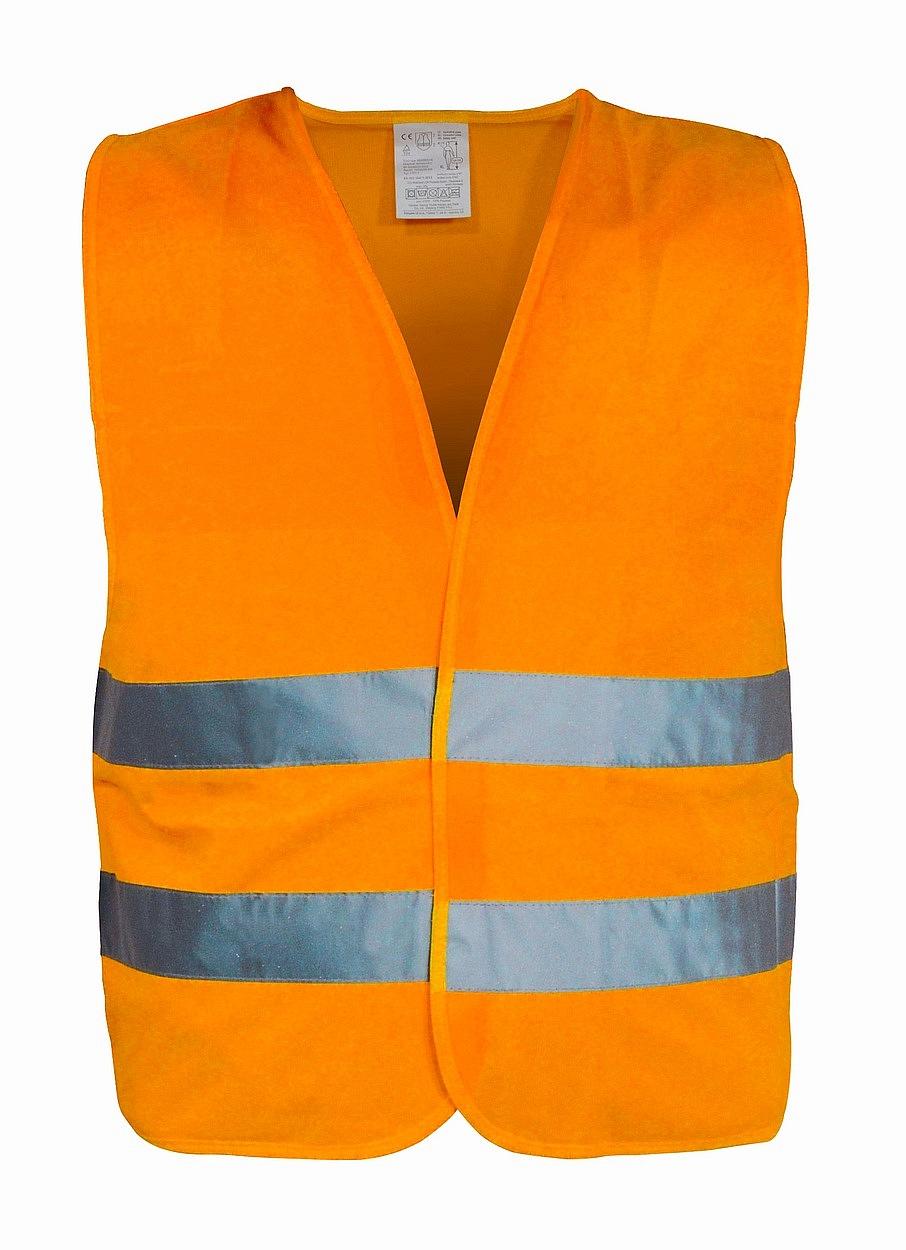Výstražná reflexní vesta XL oranžová, 01511