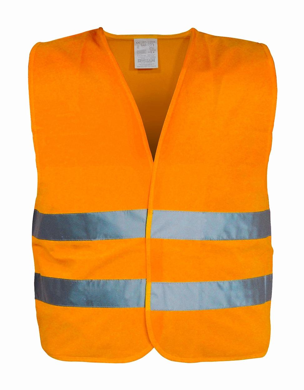 Výstražná reflexní vesta XXL oranžová, 01512