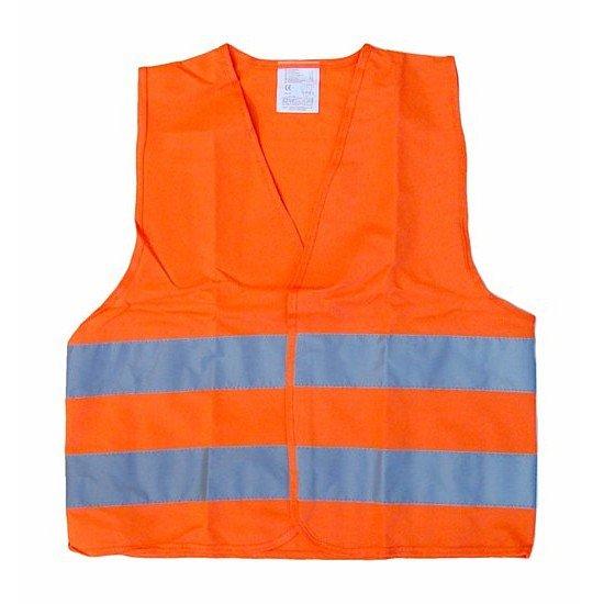 Výstražná reflexní vesta dětská oranžová, 01513
