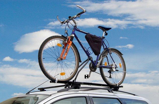 Nosič jízdního kola zamykací BLACK 02105