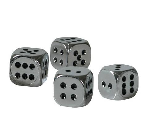 Ozdobné čepičky ventilků kostky, 02464