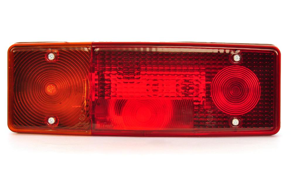 Světlo sdružené zadní + SPZ, WE549P