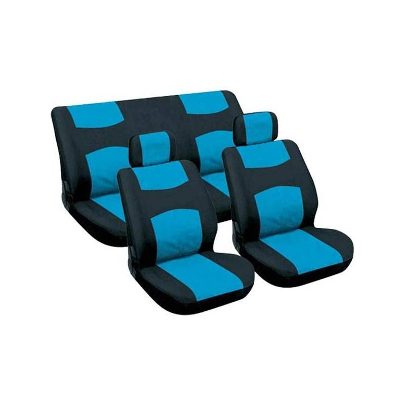 Potahy sedadel 6 dílů modré, zadní vcelku,12.583 (doprodej)