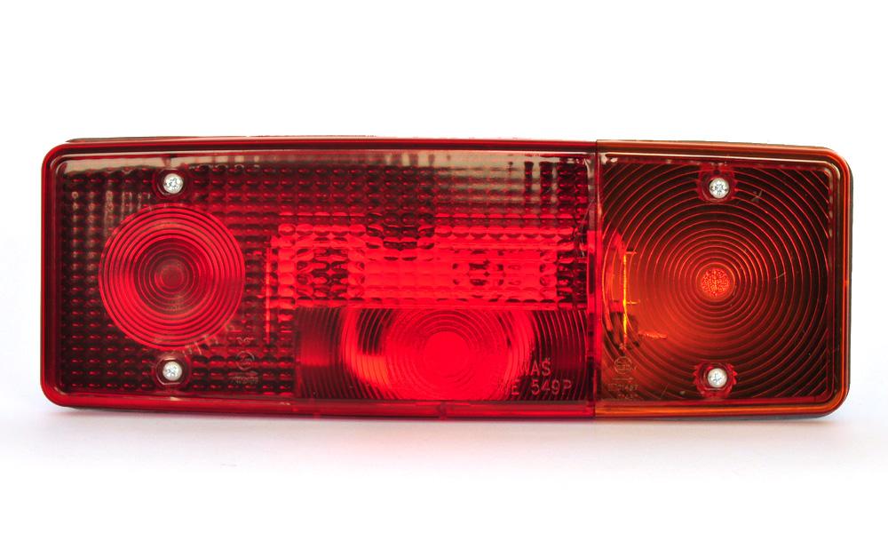 Světlo sdružené zadní + SPZ, WE549L