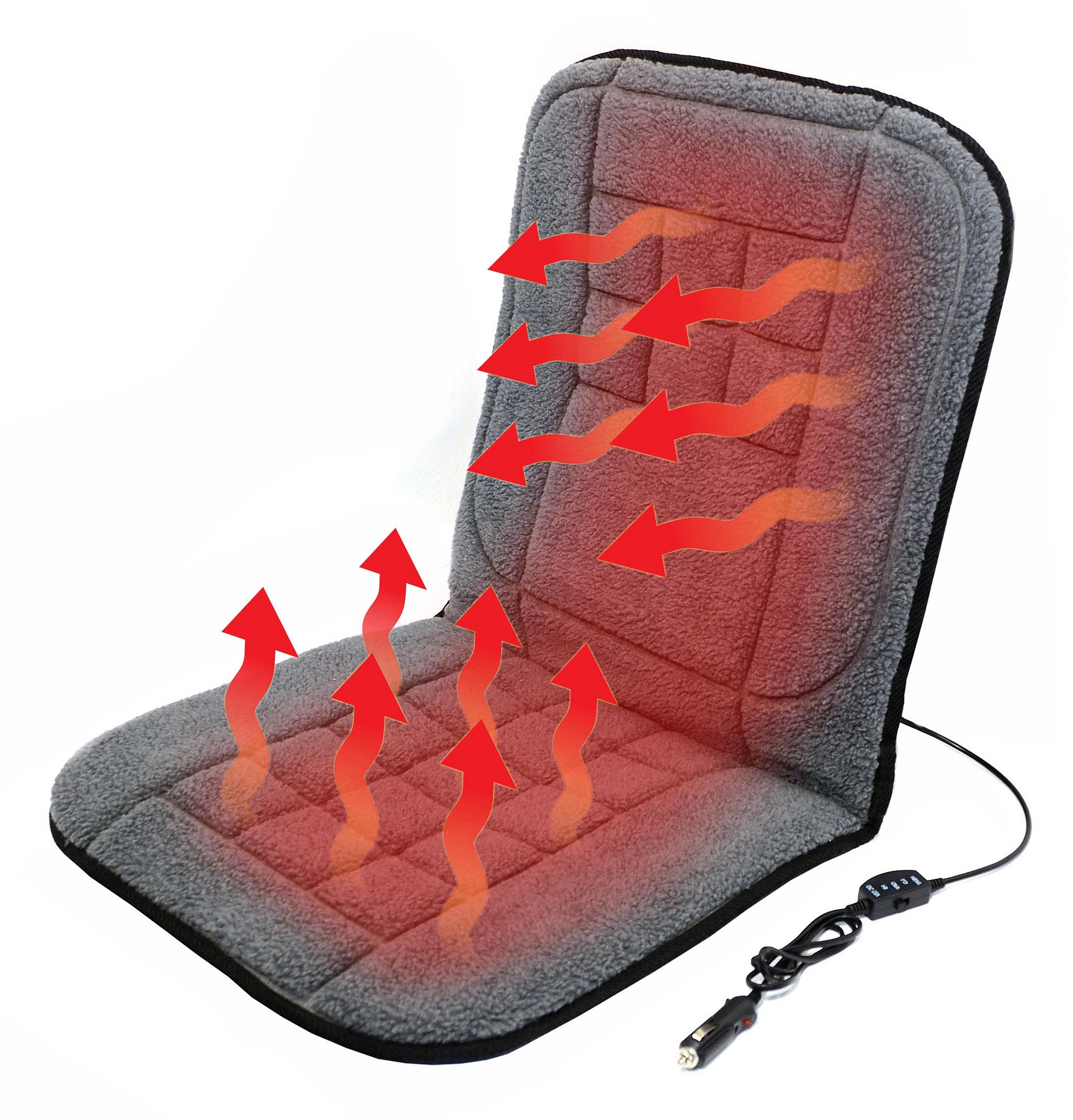 Potah sedadla vyhřívaný 12V TEDDY, 04121