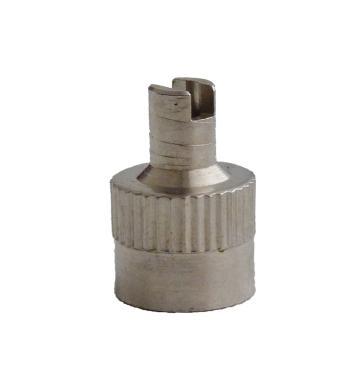 Čepička ventilku kovová s povolováním, TRWC2