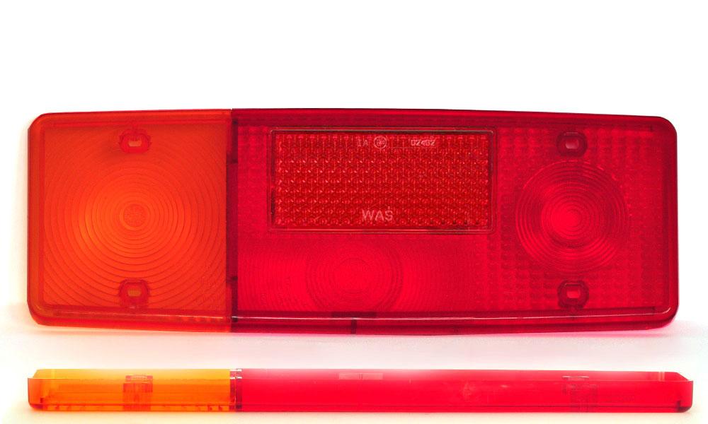 Náhradní sklo světla WE551L