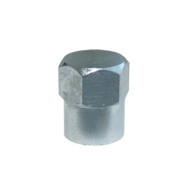 Čepička ventilku kovová, šestihran, BLVC13
