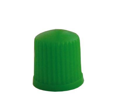 Čepička ventilku plastová, zelená