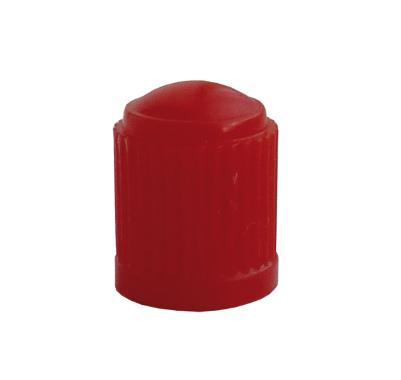 Čepička ventilků plastová, červená