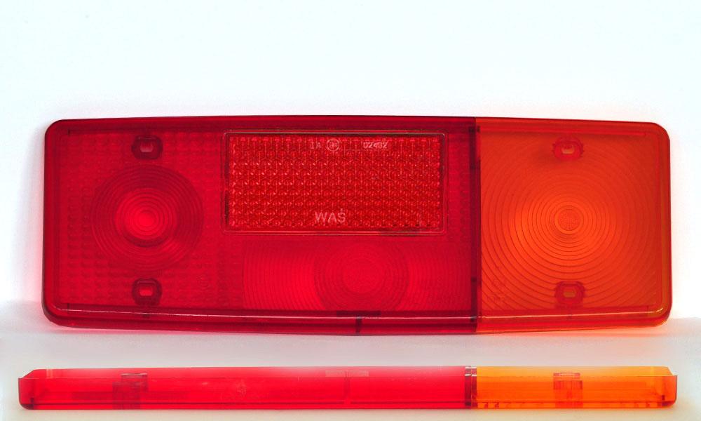 Náhradní sklo světla WE551P