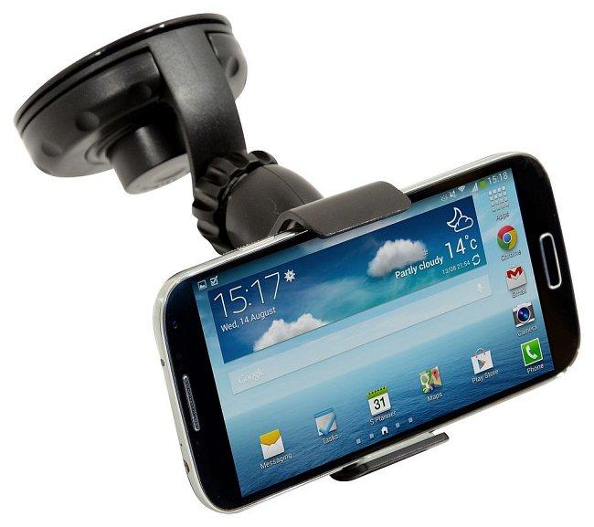 Držák mobilu/GPS na přísavku CLIPS, 06233