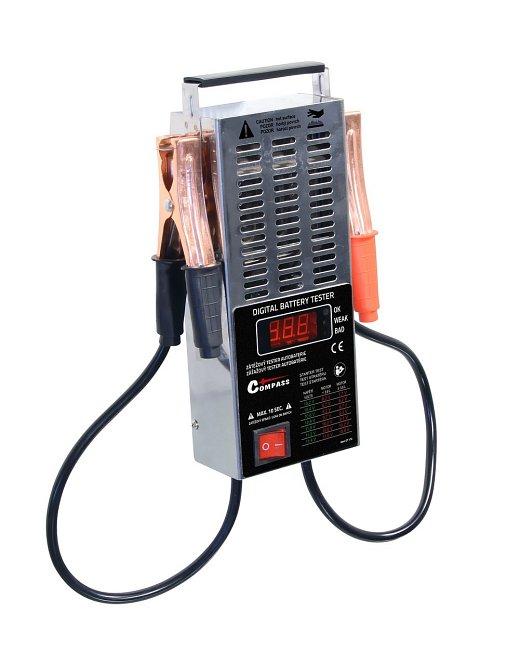 Tester autobaterie zátěžový LED, 07172