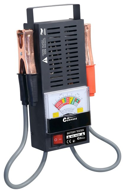 Tester autobaterie zátěžový ANALOG, 07173
