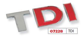 TDI emblém 07228