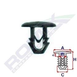 Příchytka čalounění  Tipo,Uno,Ducato (balení 25 ks)