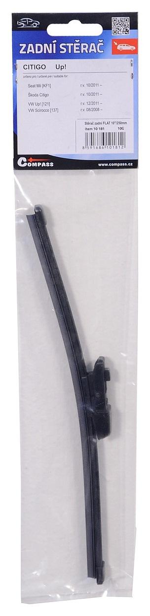 """Stěrač zadní FLAT 10""""/250mm CIT (11-), 10181"""
