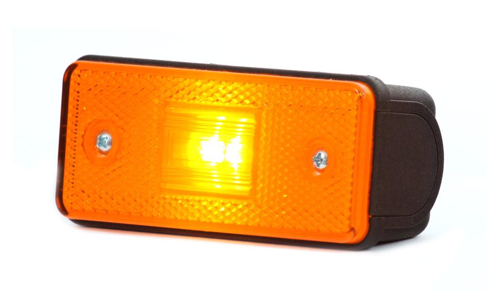 Světlo sdružené poziční boční, 12V-24V, LED, W17D