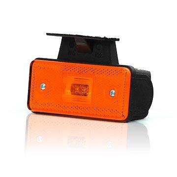 Světlo sdružené poziční boční s držákem, 12V-24V, LED, W17D