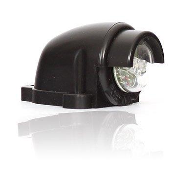 Osvětlení SPZ černé LED 12/24V