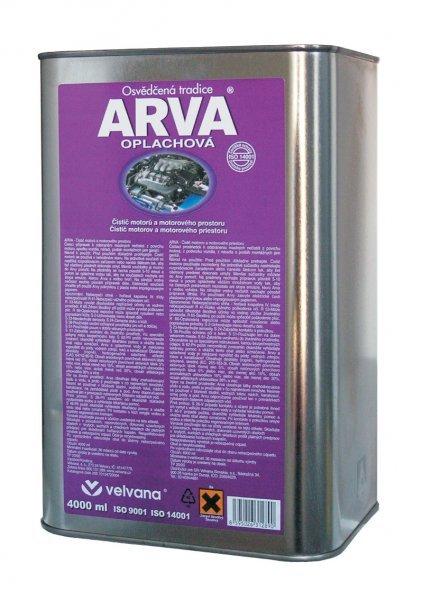 ARVA oplachová 4L - čistící prostředek na motory