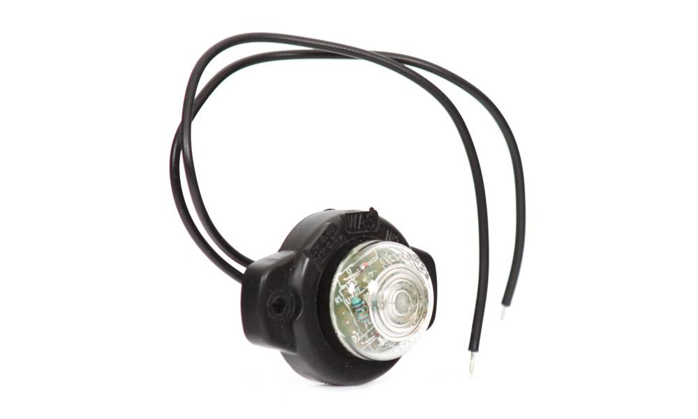 Poziční boční světlo, 12V-24V, LED, W24