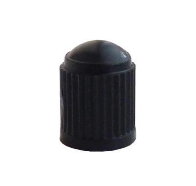 Čepička ventilku plastová , černá, TRVC 8 CM
