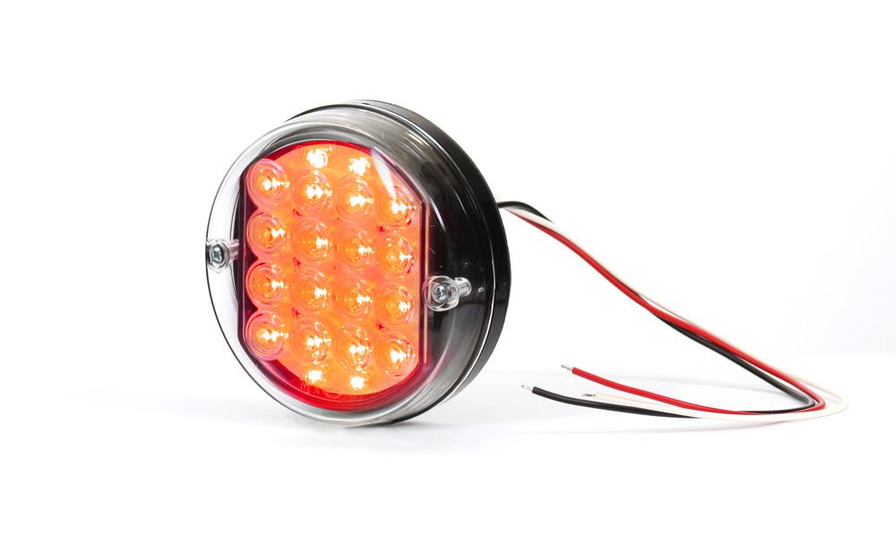 Zadní mlhové světlo, 24V, LED, W31