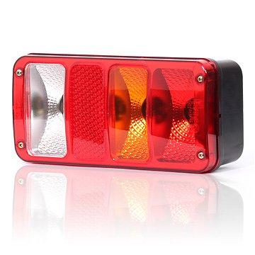 Zadní sdružené poziční světlo s odrazkou, osvětlení SPZ ze strany 12V (24V), W29P