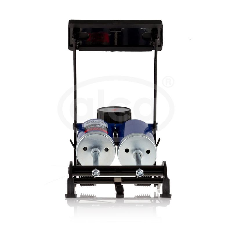 Nožní pumpička dvoupístová s tlakoměrem, 202000