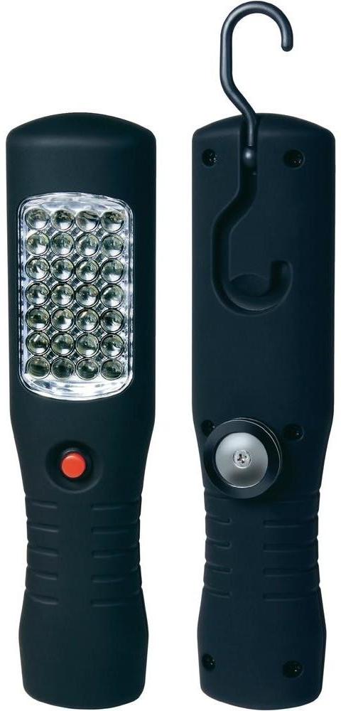Lampa montážní 30 LED 12V/220V dobíjecí, HS-2035