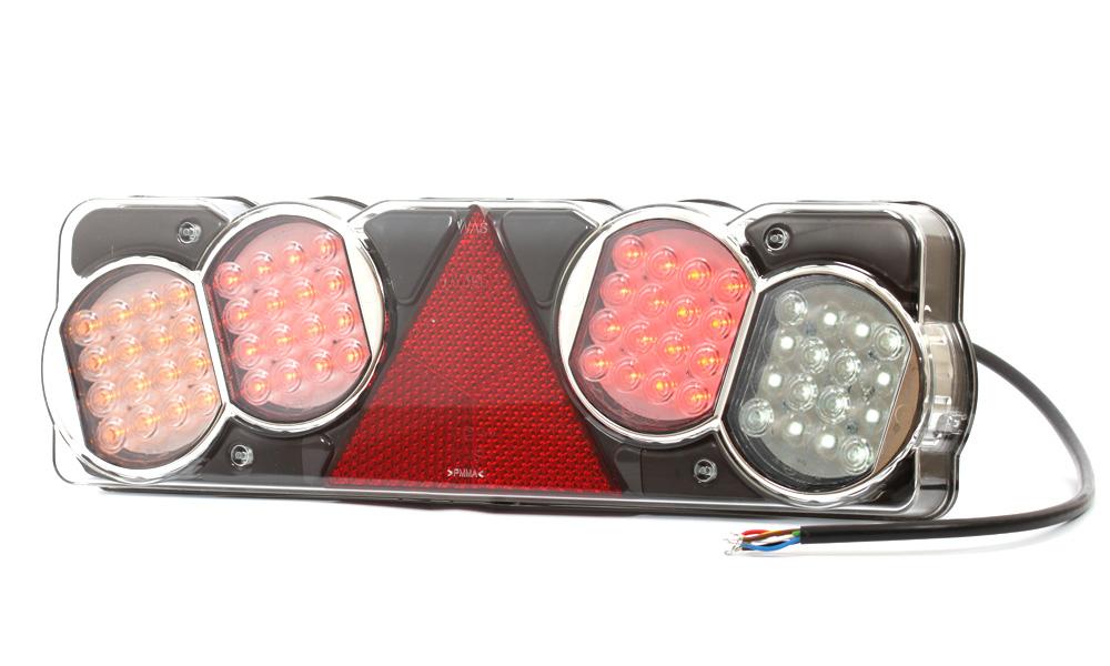Zadní sdružené poziční světlo, 24V, LED, W39L