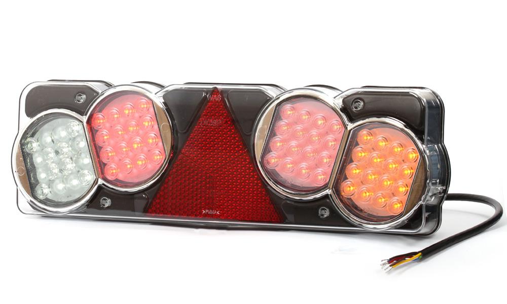 Zadní sdružené poziční světlo, 24V, LED, W39P