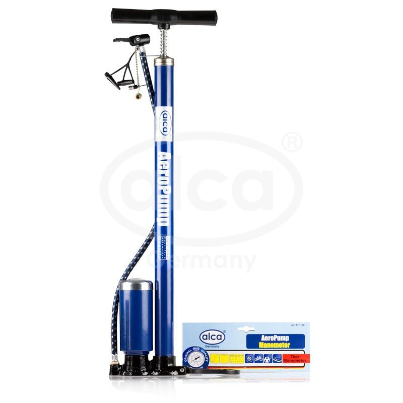 Ruční pumpička s manometrem AeroPump 7 bar, 217100 - Doprodej