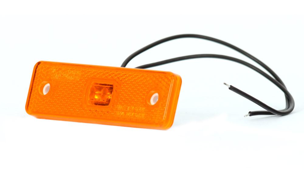 Poziční sdružené boční světlo, 12V-24V, LED, W44