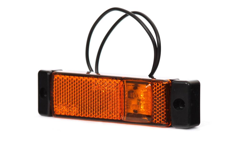 Poziční sdružené boční světlo, 12V-24V, LED, W45