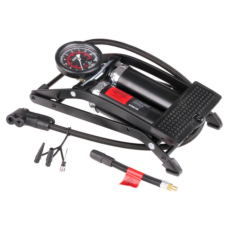 Nožní pumpička dvoupístová PedalMax Black Edition, 225010