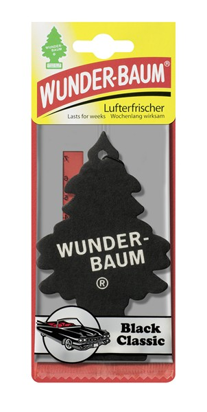 Osvěžovač  WUNDER BAUM - BLACK CLASSIC