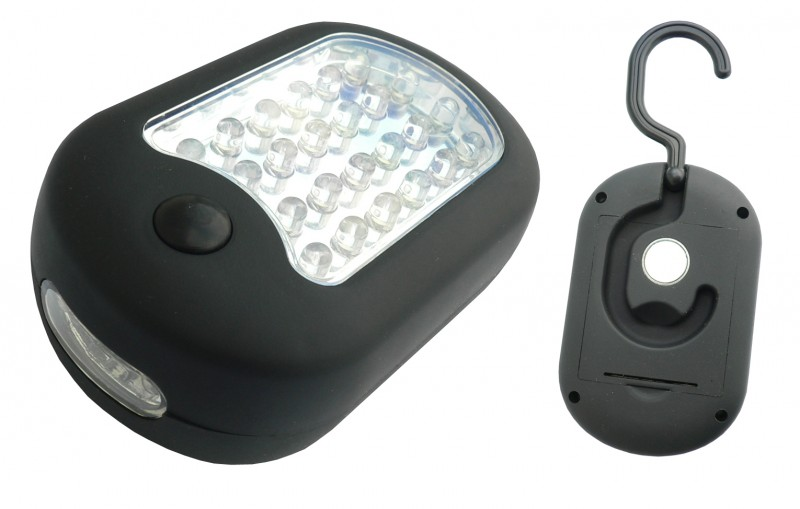 Pracovní světlo 24+3 LED s magnetem, 42459