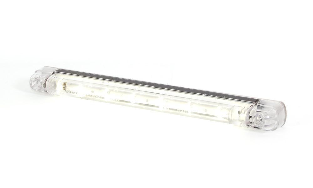 Svítilna pro jízdu ve dne - poziční, 12V-24V, LED, W51