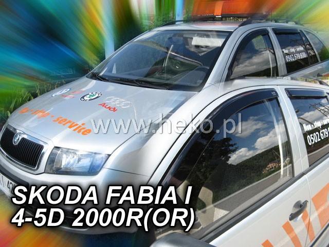 Plexi Škoda Fabia 4D 00R   (431)