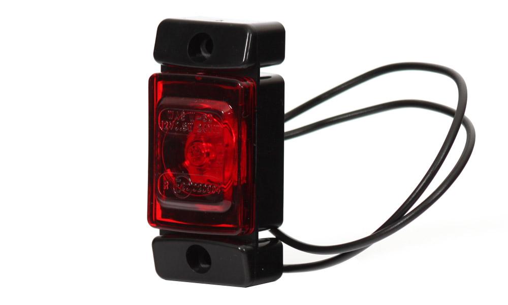 Obrysové zadní světlo, 12V-24V, LED, W60