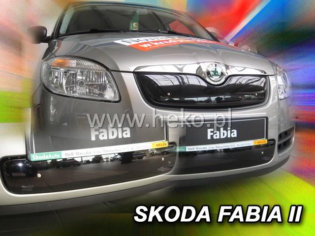 Zimní clona Fabia II/Roomster dolní 07-7/10R CZ 041