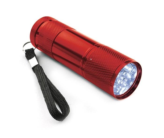 Ruční svítilna 9 LED, + 3AAA baterie, 94-024