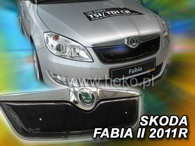 Zimní clona Fabia II 5d 07/2010r- CZ 044/CZ 045