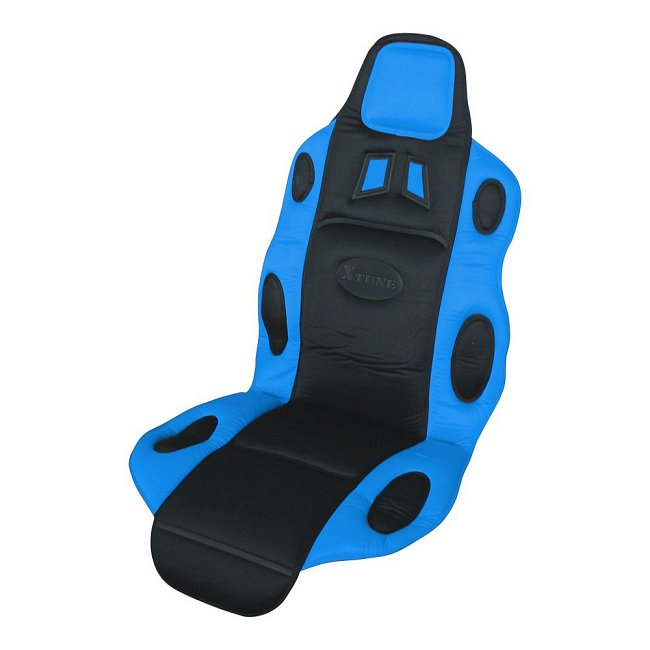 Potah sedadla RACE černo-modrý, 31651