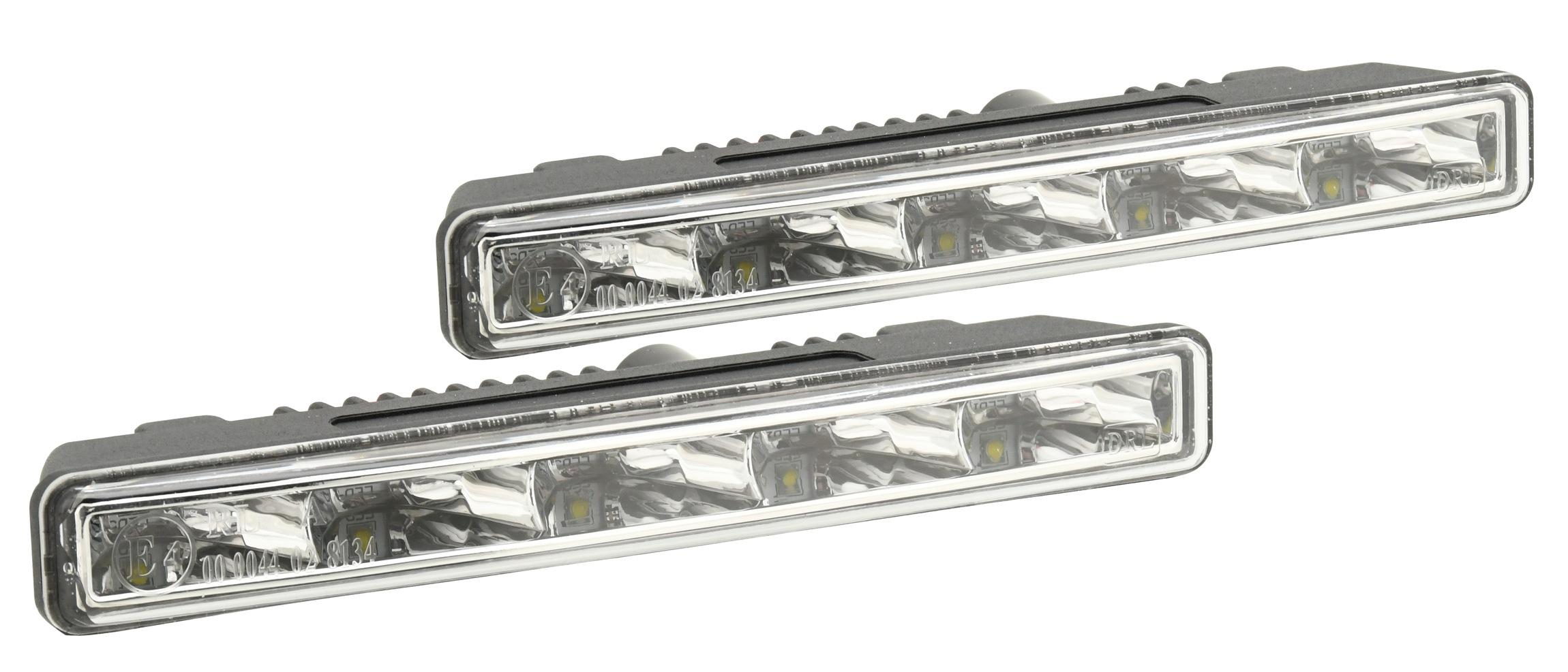Světla denního svícení 5 HIGH POWER LED 12/24V (182x23x51mm)   33550